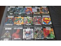 ** Eaglemoss Dc graphic novel collection plus more **