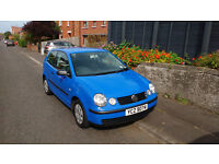 VW Polo E Oct 2004 Very Low Miles - 37,725
