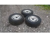 2011 mercedes sprinter wheels and tyres