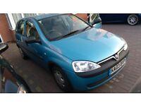 Vauxhall Corsa Blue