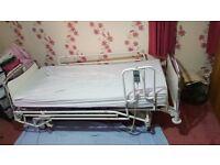 Used Linet Elegance 1 Hospital Nursing Bed Fully working - 2 Remotes