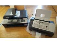 Brother printer and fax