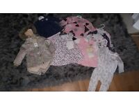 Baby girls clothes all new newborn to 3-6 months
