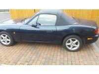 Bargain Mazda MX5 sports car