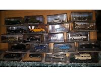 100 James Bond Model Car Collection & 100 Magazines