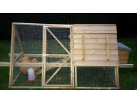Chicken Ark, very good quality. Hand built using top quality timber. Little use.