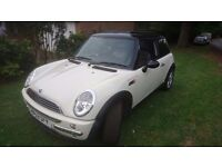 mini cooper white(53) panoramic roof for sale