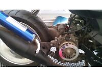 Running 50cc engine complete with carb and exhaust