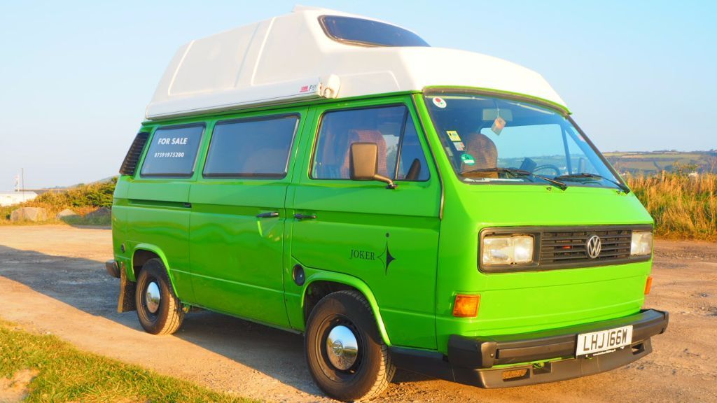 VW Campervan T25 Westfalia Green Machine