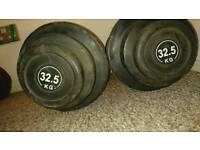 4 Sets of fixed dumbell weights - £150