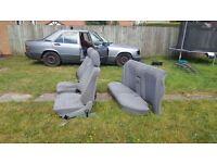 Mercedes 190 seats