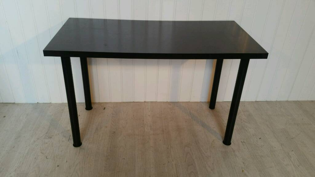 Ikea Black Desk/Table for Sale