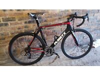 Full Carbon Planet x Road Bike with additional set Carbon Carbone SL Wheelset