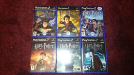 Playstation 2 Harry Potter Collection inc Philosophers Stone. Rare.