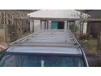 vauxhall vivaro lwb roof rack.