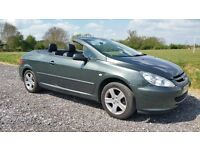 Swap Peugeot 307 Convertible For MPV/Van.