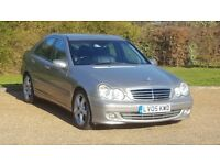 MERC C180 KOMP A/GARDE SE AUTOMATIC 05PLATE 3P/LADY OWNER 94000 MILES WITH A FULL SERVICE HISTORY