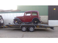 Car and Motorcycle Recovery Transport Trailer Hire