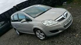 2009 Vauxhall zafira 1.9 cdti Automatic