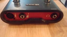 Line 6 Tone Port UX1 Guitar to USB interference