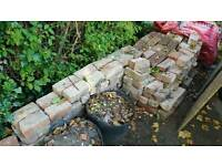 Reclaimed imperial old bricks