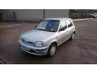 NISSAN MICRA (red) 1999
