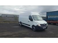 renault master 165-45 L4 H3 4.5 ton gross extra lwb van 7.5 ton train easy derate plus vat