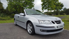 Saab 93 Convertible 2004. Full year MOT.