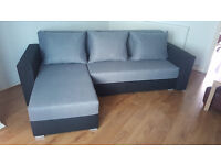 Corner sofa bed. Brand new. Gray colour // free delivery