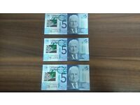 Clydesdale Bank Plastic £5