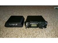 Yaesu FT-817nd (wide banded) with LDG Z817 Autotuner and Accessories