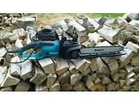Makita UC4030 longitudinal style 2000W electric chainsaw 40cm bar hardly used