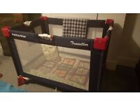 Petite Star travel baby cot - hardly used - cheap price for quick sale