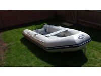 WaveLine 2.9 m Air Deck floor Inflatable Boat Rib Dinghy with HIDEA 5HP Outboard motor