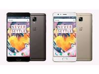 Wanted! Oneplus 3T 128gb