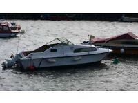 Shetland 520 inland cruiser boat