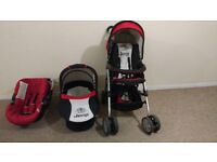 ***Travel system/pushchair/buggy/first car seat/baby cot***