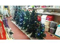 Christmas clearance.4ft deluxe fibre optic tree