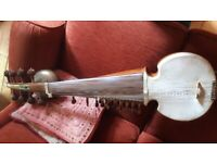sarod fretless indian classical instrument - (+ tabla, pakhavaj, etc)