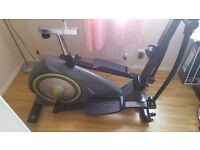 Elevation 2 in 1 Cross Trainer/ Exercise Bike - New