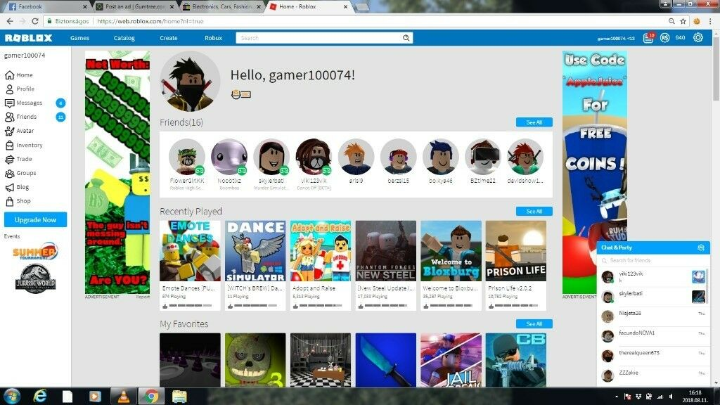 Roblox Accounts With Robux | Free 4000 Robux