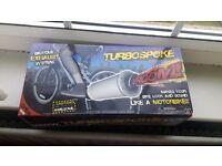 Turbospoke for bicycle