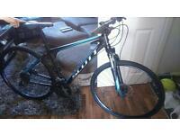 Scott man's sportster hybrid 27 gear mountain bike