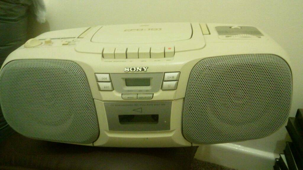 Two Of, Sony Ghetto Blaster's