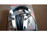 HyperX Cloud Gaming Headset for PC/PS4/Mac - White