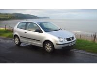 2004 Volkswagen Polo Twist Automatic 1.4, good condition with new mot