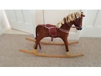 Vintage Rocking Horse, circa 1950's - 60's