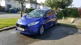 Fiesta ST3 Spirit Blue, Style Pack, Fully Loaded, 1 Owner FFSH 2014 1.6 turbo