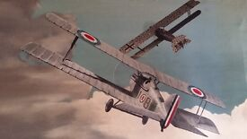 World War One Dogfight Painting