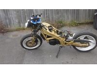 ns125 r 1993 almost complete bike with running engine